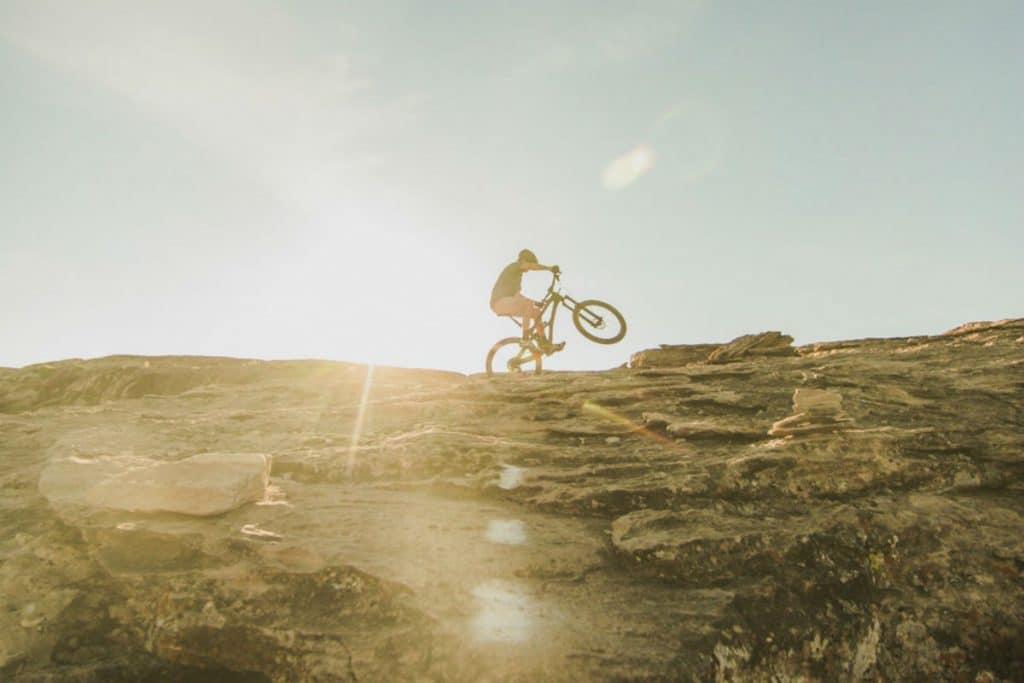 mountain biking exercise